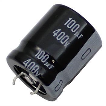 Snap-In Elko Kondensator 100µF 400V 105°C ; LGN2G101MELZ25 ; 100uF