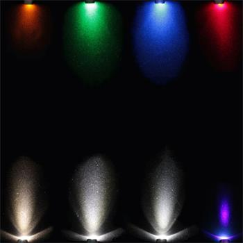 Superhelle Signal Schraub LEDs 5V M8 Gewinde 20cm Kabel ; verschiedene Farben