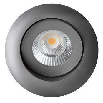 LED ceiling lamp Allround 10W 2700K / 3000K / 4000K - Anthracite
