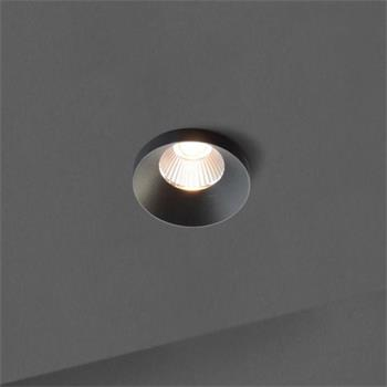 LED ceiling lamp OWi 9W 2700K / 3000K - Black