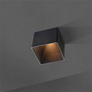 LED ceiling lamp Blocky 9W 2700K / 3000K - Black