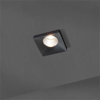 LED Deckenlampe Squary 9W 2700K / 3000K - Schwarz