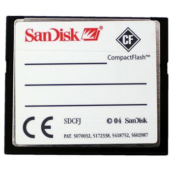 SanDisk Compact Flash 512MB Memory Card CF