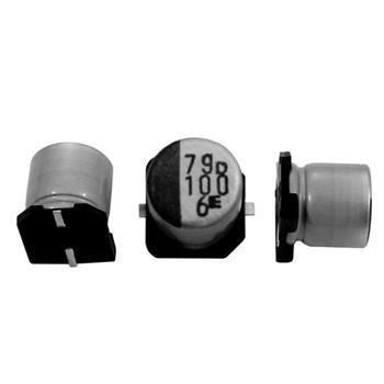 SMD Elko Kondensator 100µF 6,3V 105°C ; RVD-6V101ME61U-R2 ; 100uF