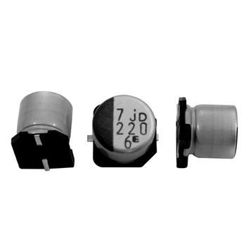 SMD Elko 220µF 6,3V 105°C 6,3x5,8mm