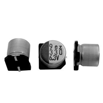 SMD Elko Kondensator 330µF 6,3V 105°C ; RVZ-6V331MG68TO-R2 ; 330uF