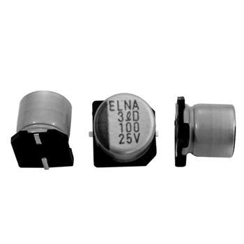 SMD Elko 100µF 25V 105°C 8x6,5mm