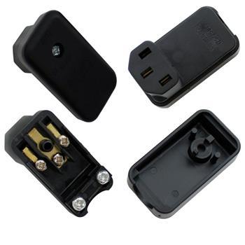 Kaltgeräte G-Steckdose für Kabel
