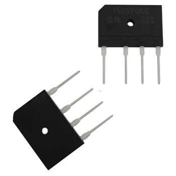 Gleichrichter TSC TS15P06G 1P 15A 800V