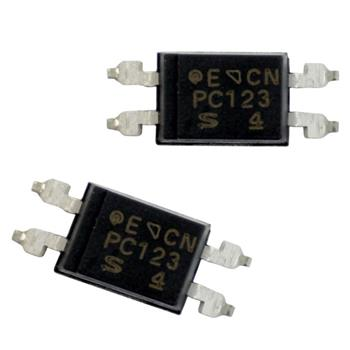 Optocoupler PC123X8YUP06 4-SMD ; Sharp ; PC123