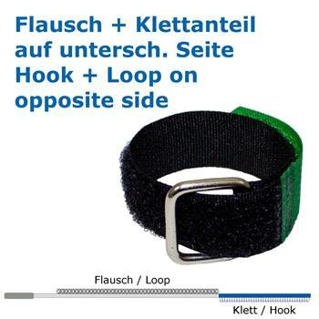 Klettbinder 150x16mm Kabelbinder wiederverwendbar Band gekreuzt