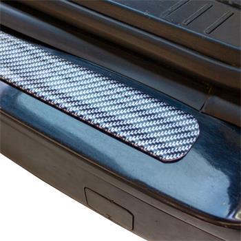 3cm x 3m Auto Carbon Schutzleiste Kantenschutz Einstiegsleiste 3D-Effekt Gummi
