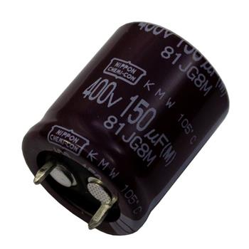 Snap-In Elko Kondensator 150µF 400V 105°C ; EKMW401VSN151MP25W ; 150uF
