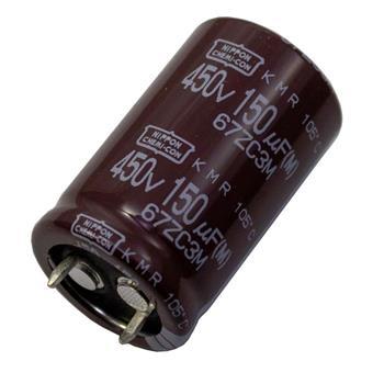 Snap-In Elko 150µF 450V 105°C 22x35mm