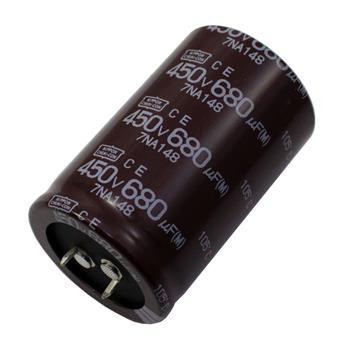 Snap-In Elko 680µF 450V 105°C 35x55mm