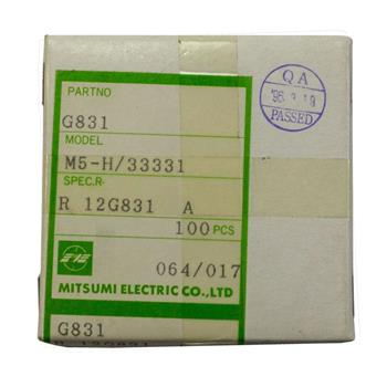 Adjustable Coil 0,03-130µH / 3-200MHz ; Mitsumi, R-12 G831A