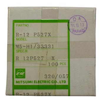 Adjustable Coil 0,03-130µH / 3-200MHz ; Mitsumi, R-12 P527