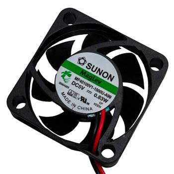 Ventilator Fan 5V 0,68W 40x40x10mm 13,5m³/h 27,3dBA ; Sunon MF40100V11000UA99