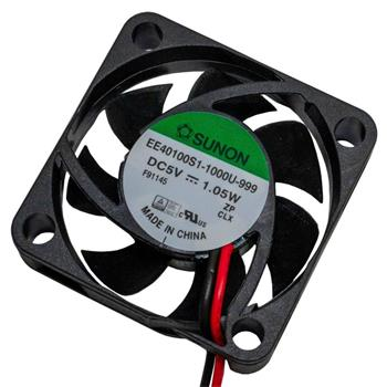 Ventilator Fan 5V 0,86W 40x40x10mm 13,9m³/h 28,2dBA ; Sunon EE40100S11000U999