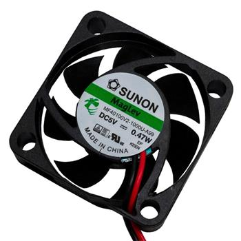 Ventilator Fan 5V 0,47W 40x40x10mm 11,8m³/h 20,6dBA ; Sunon MF40100V21000UA99