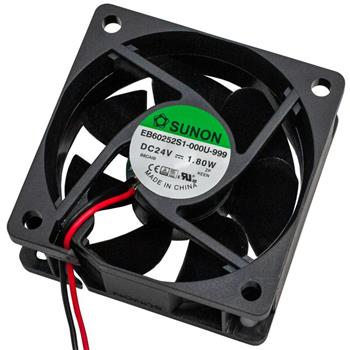 Ventilator Fan 1,8W 60x60x25mm 39,9m³/h 33,5dBA ; Sunon EB60252S1-999