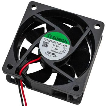 Ventilator Fan 1,13W 60x60x25mm 32,7m³/h 30dBA ; Sunon EE60252B2-A99