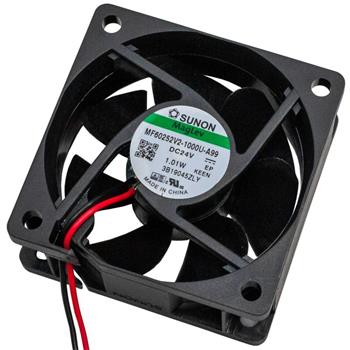 Ventilator Fan 0,72W 60x60x25mm 32,8m³/h 22dBA ; Sunon MF60252V21000UA99