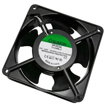 Ventilator Fan 230V 9,9W 120x120x38mm 134,2m³/h 42dBA ; Sunon DP202A2123MBL-S