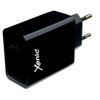 3A USB Handy Ladegerät schwarz Xenic XC04Black 15W