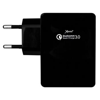 3A Charger black 2x USB Xenic RT-35 Black Qualcomm Quick Charge 3.0 Mobile Phone