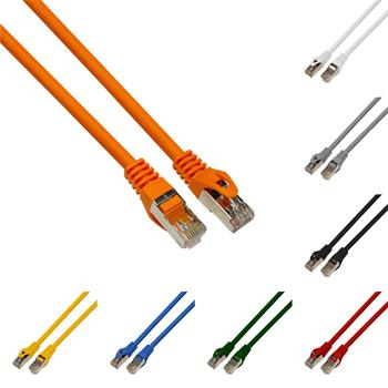 0,25m CAT 7 Patchkabel Netzwerkkabel RJ45 Ethernet DSL LAN S/FTP CAT7