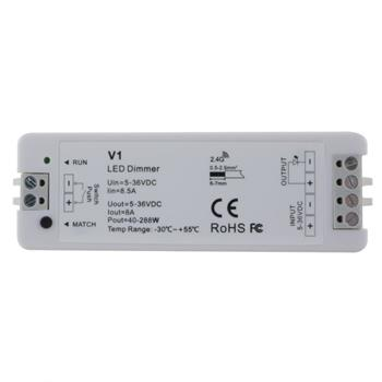 Elegance LED Receiver WiFI + RF 2,4GHz Controller for single color strips