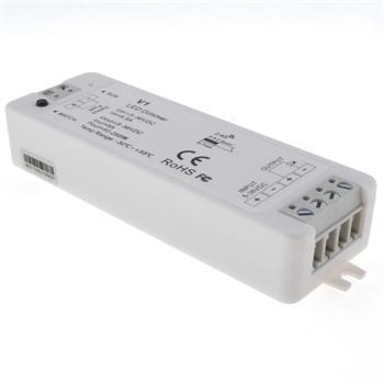 Elegance LED 4-Zone Empfänger 5...36V 192W WLAN + RF 2,4GHz für einfarbige LED Streifen 2-Pin