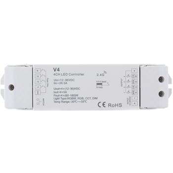 Elegance RGB RGBW LED Empfänger WLAN + RF 2,4GHz Controller