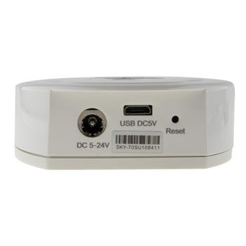 Elegance RGB RGBW LED 4-Zone WLAN Modul für Elegance für einfarbige + Farbwechsel Streifen 2-Pin, 4-