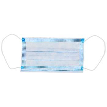 Mund-Nase-Schutz 3-lagig OP-Mundschutz Gesichtsmaske Atemschutz