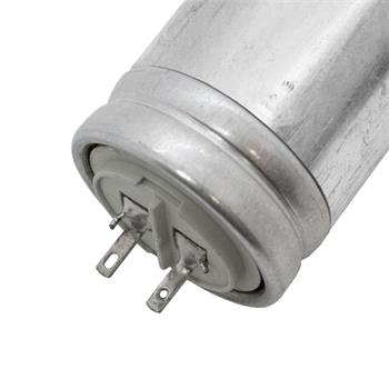 Anlaufkondensator Motorkondensator 2,7µF 480V 25x78mm Stecker 2,8x0,8mm ICAR 2,7uF