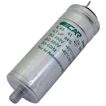 Motor-Kondensator 4,1µF 480V 30x80mm - Pins