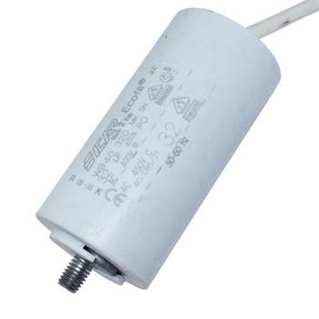 Motor-Kondensator 32µF 450V 45x91mm - Kabel