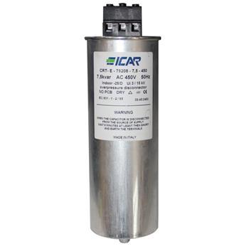 Blindstromkondensator 3 Phasen 3x 39,3µF 7,5kvar 450V ICAR CRT-E-75208-7,5-450