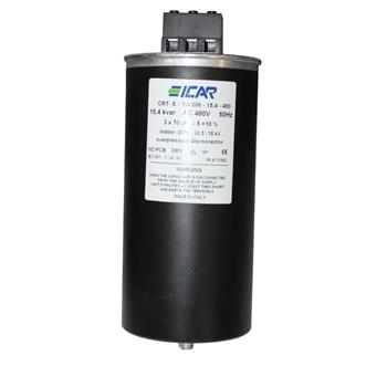 Blindstromkondensator 3 Phasen 3x 70µF 15,4kvar 480V ICAR CRT-E-100208-15,4-48