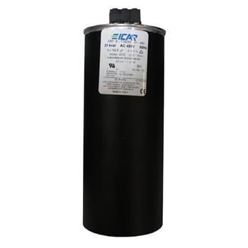 Blindstromkondensator 3 Phasen 3x 142,8µF 31kvar 480V ICAR CRT-E-116283-31-480
