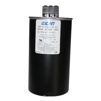 Blindstromkondensator 3 Phasen 3x 157,2µF 30kvar 450V ICAR CRT-E-116203-30-450