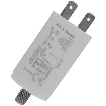 Anlaufkondensator Motorkondensator 1µF 450V 30x51mm Stecker 6,3x0,8mm ICAR 1uF