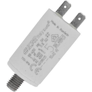 Motor-Kondensator KG 5µF 450V 30x51mm - Stecker