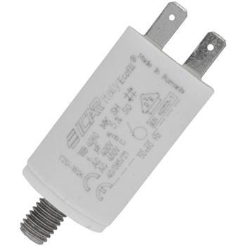 Motor-Kondensator KG 6µF 450V 30x51mm - Stecker