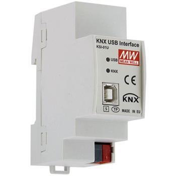 KNX Schnittstelle Interface MeanWell KSI-01U USB für Bus Diagnose