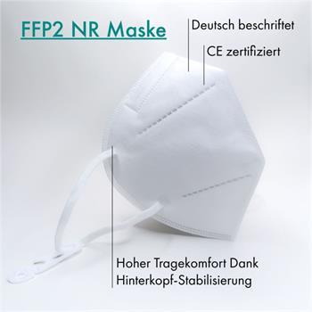 Maske FFP2 Atemschutzmaske CE2834 Mund Nase Gesichtsmaske