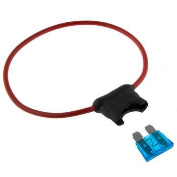 KFZ Auto Sicherungshalter + 19mm 15A Flachsicherung sehr hochwertig Wasserdicht
