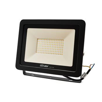 LED Flutlicht Strahler 200W 17000lm Neutral Weiß 4000K 380x280x45mm Schwarz -35...+55°C IP65 110° CR